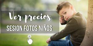 precios de sesion fotos niños en Málaga